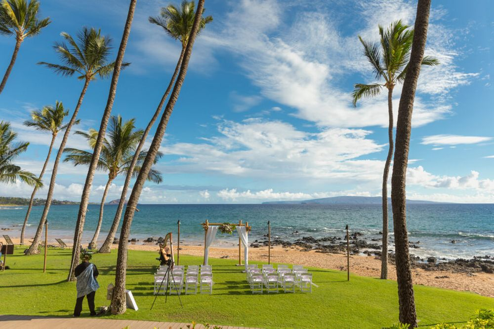 oceanside wedding venue on maui
