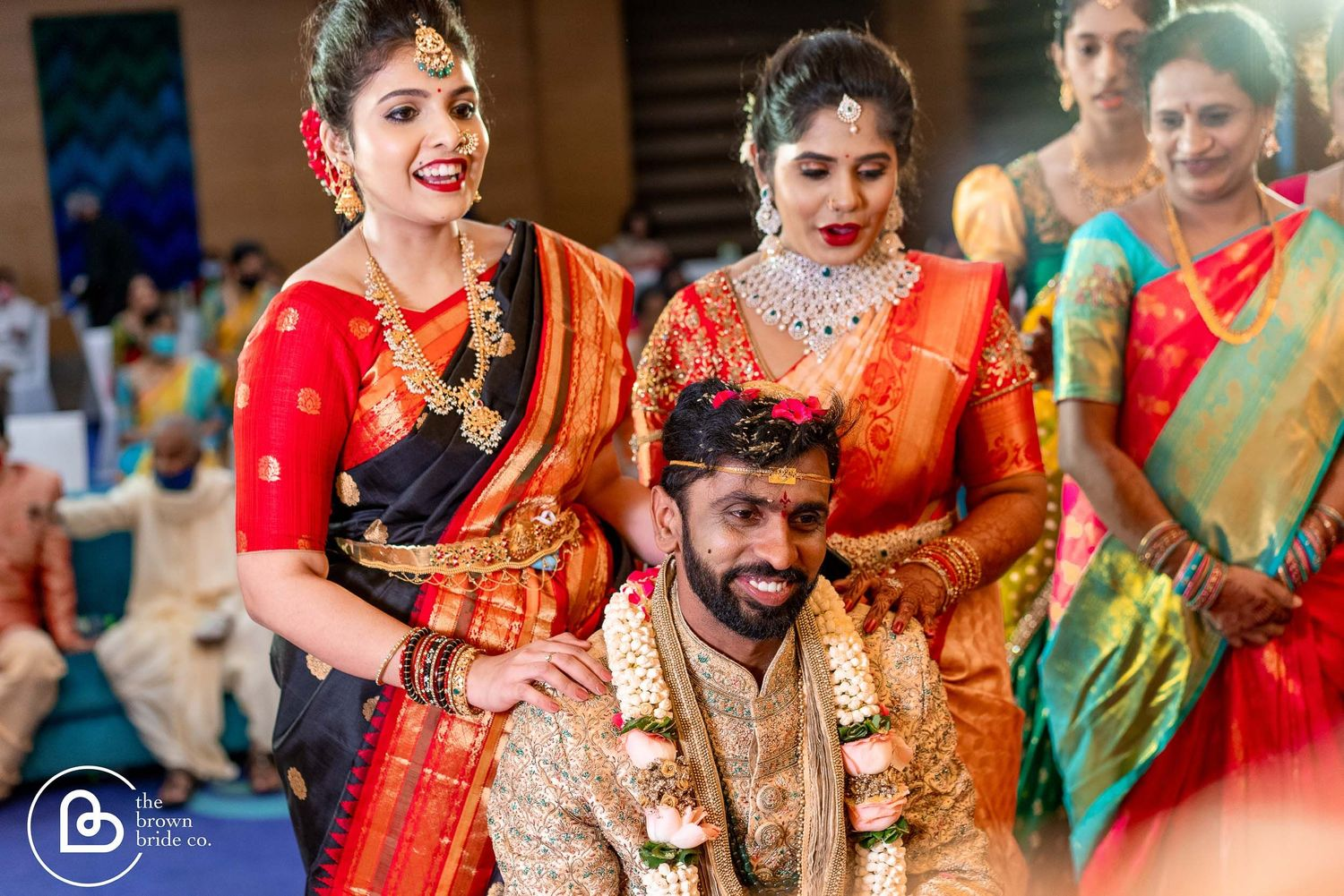 wedding in hyderabad | groom with family wedding photo shoot, professional photography in hyderabad
