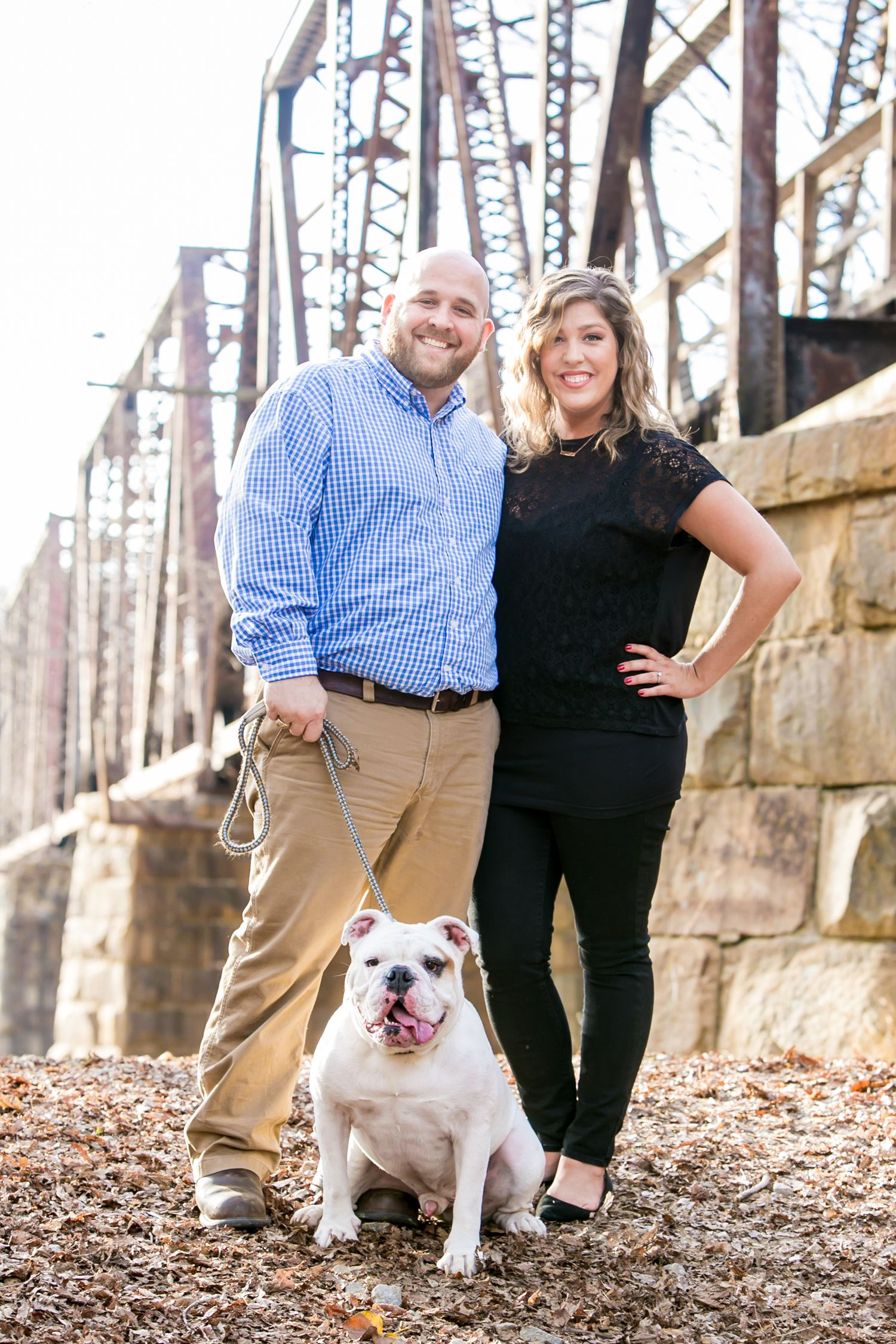Palmetto Trail in Peak, SC,  engagement portrait by Columbia, SC, Wedding Photographer Jeff Blake