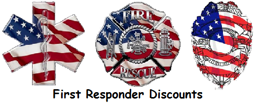 First responder discount for weddings and engagements