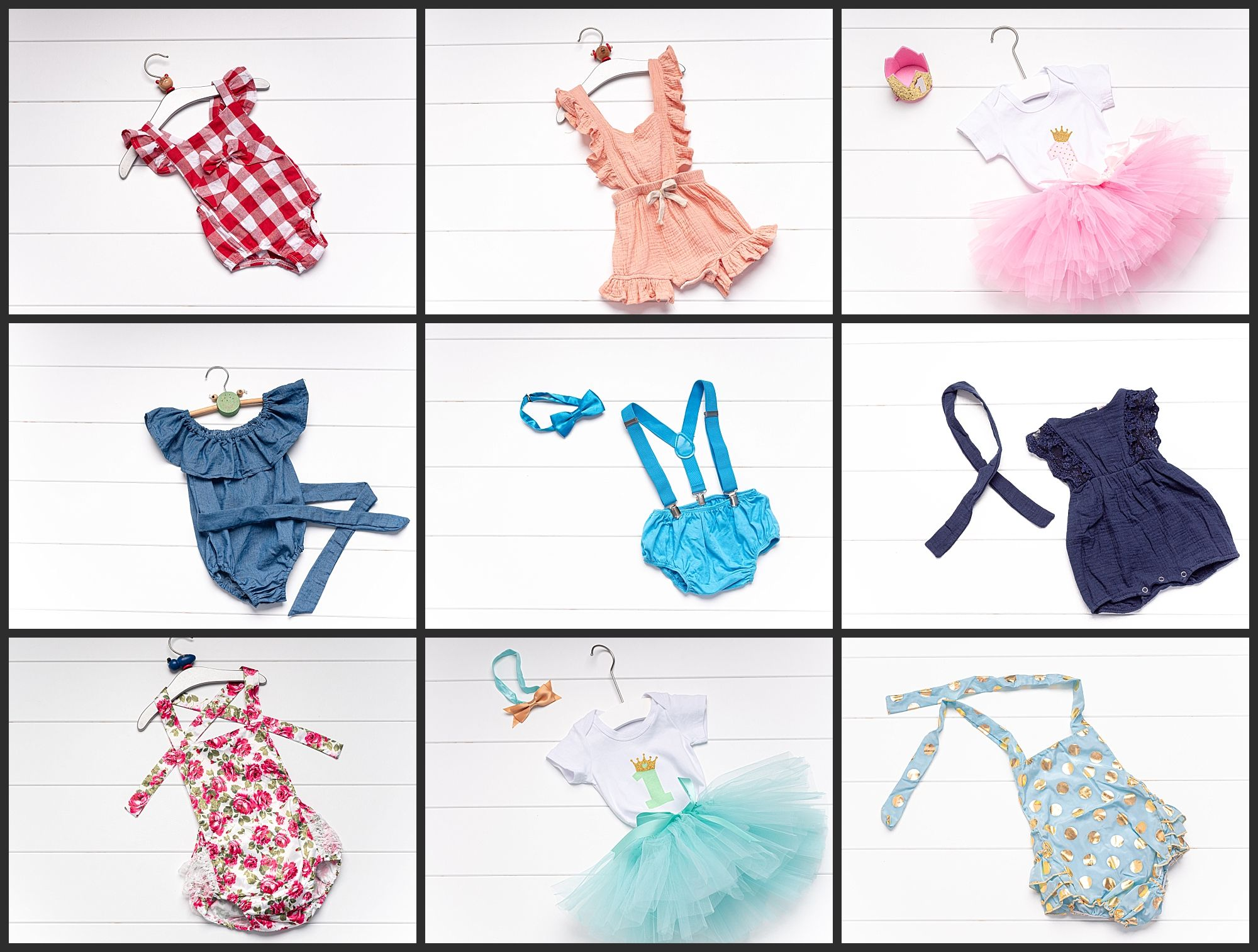 Outfits for a baby Cakesmash in Vienna. Baby smash the cake Fotograf
