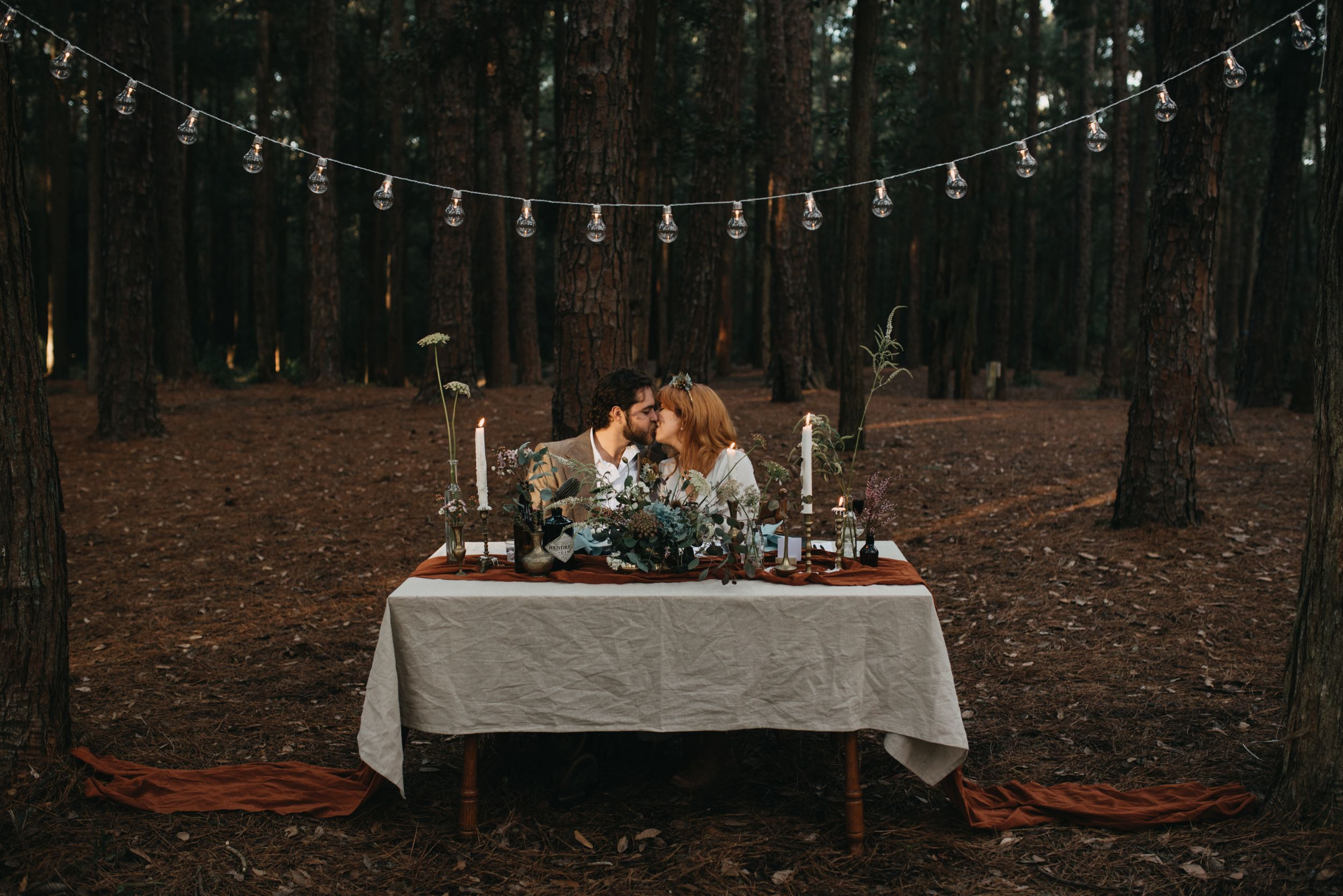 folk moody wedding elopement photography in watagans national park pine forest hunter valley nsw