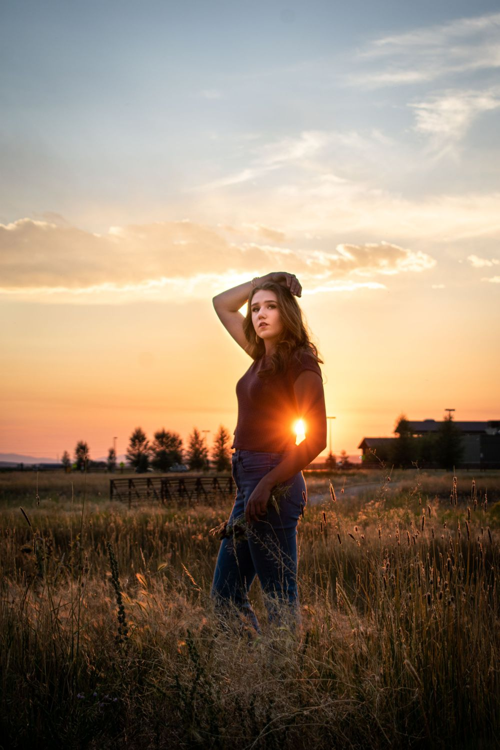 Pinedale Wyoming Senior Photos