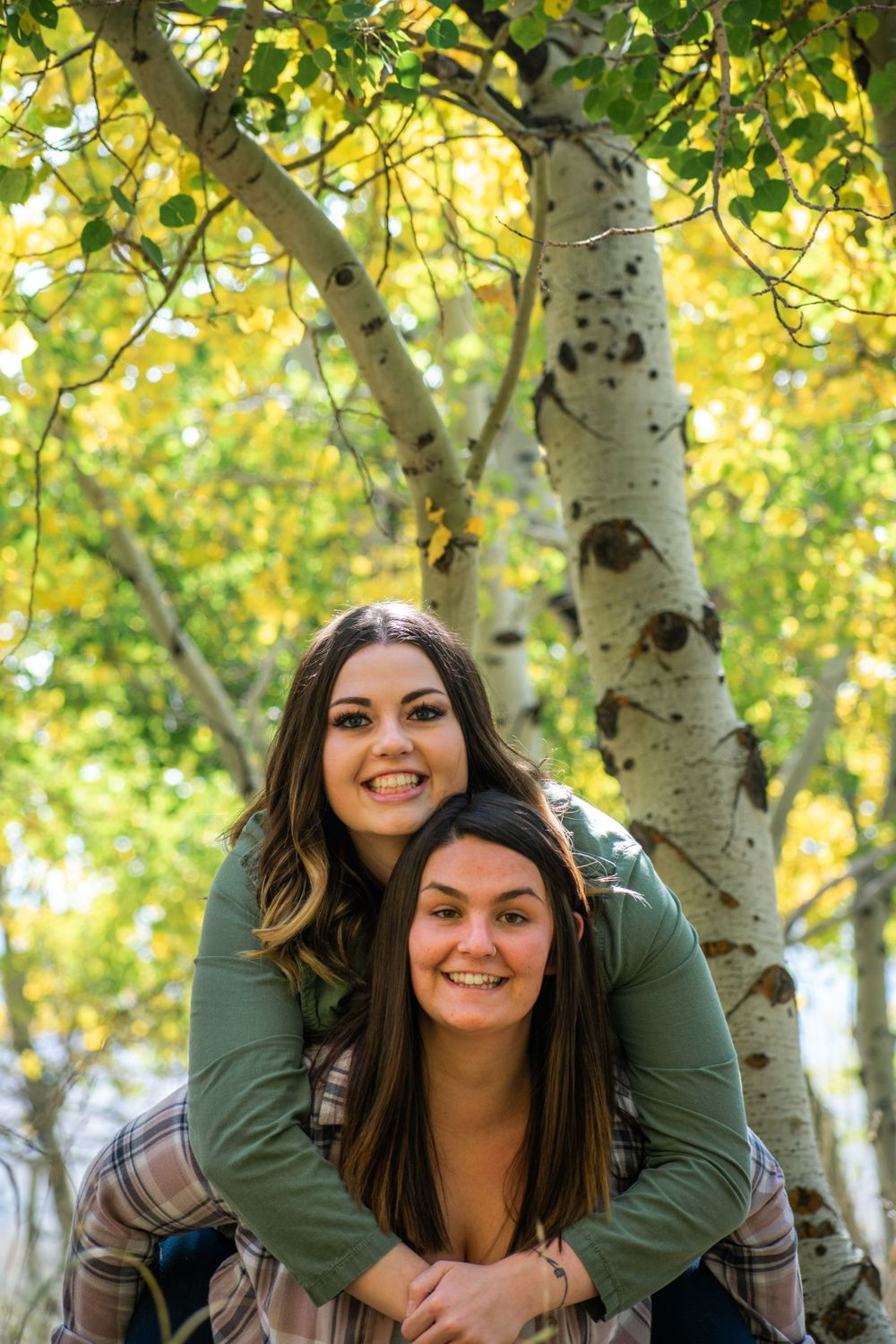 Best Friends Senior Session Wyoming
