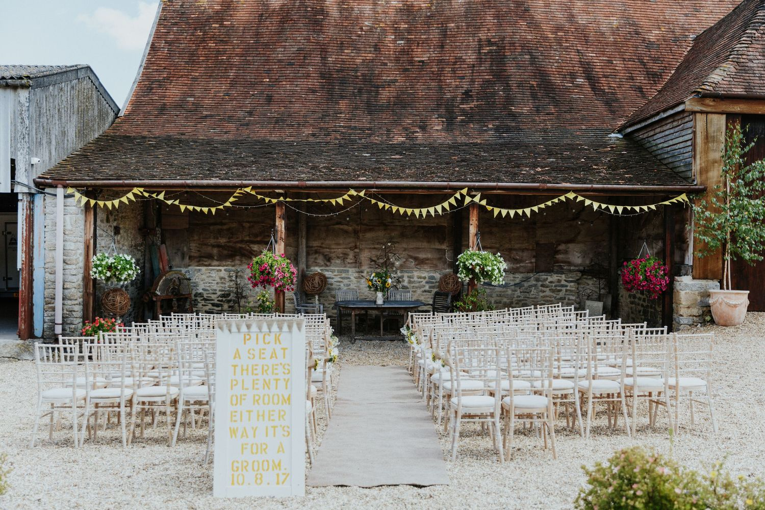Stockbridge Farm Barn Wedding