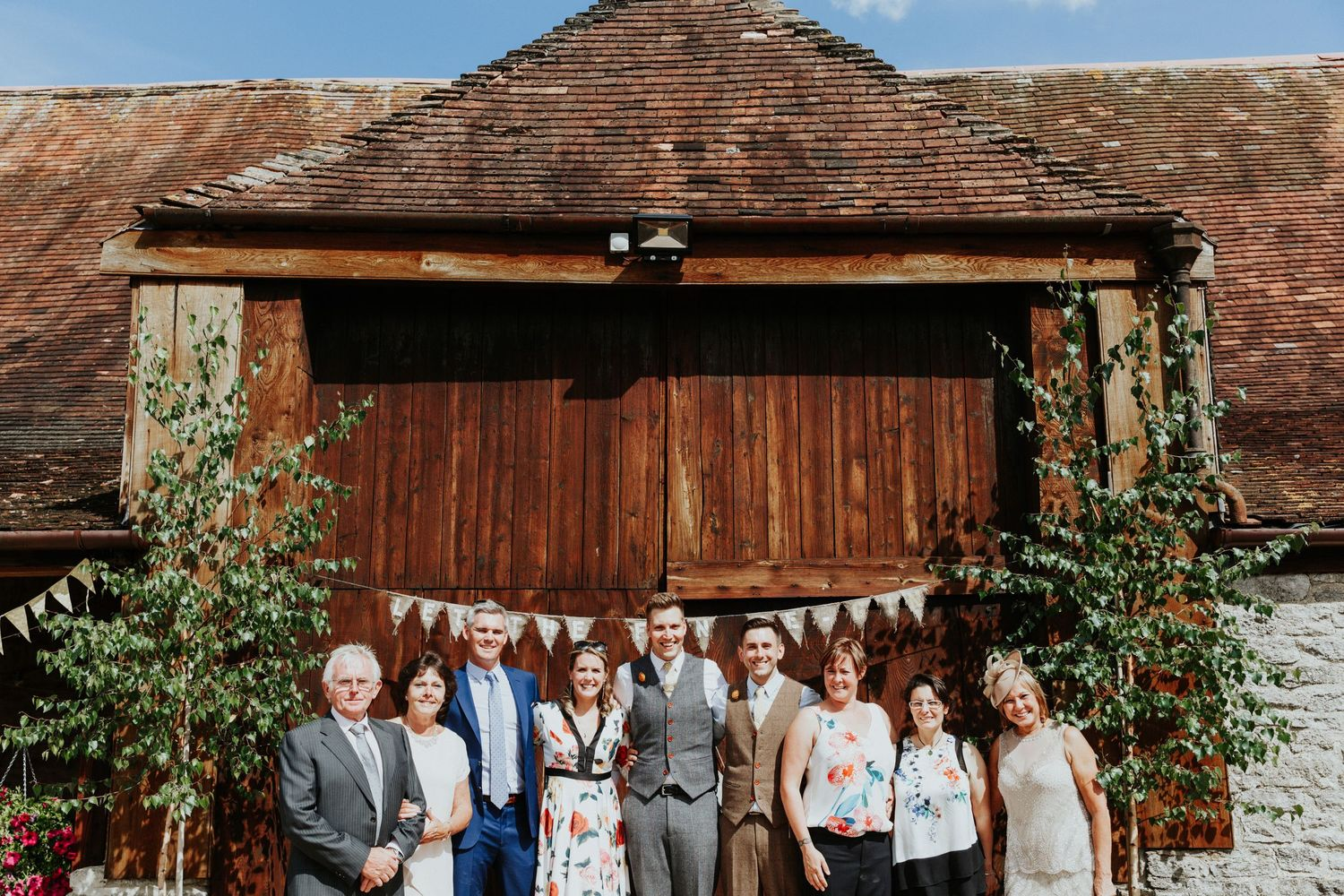 Stockbridge Farm Barn Wedding , Gay wedding , Dorset wedding photographer
