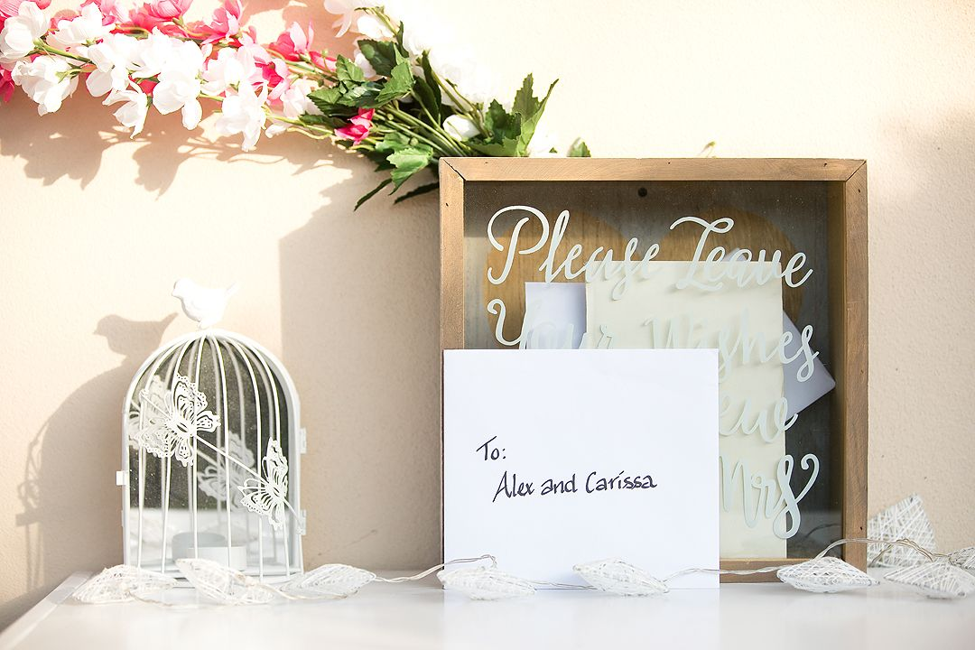 Wedding reception details in Canberra