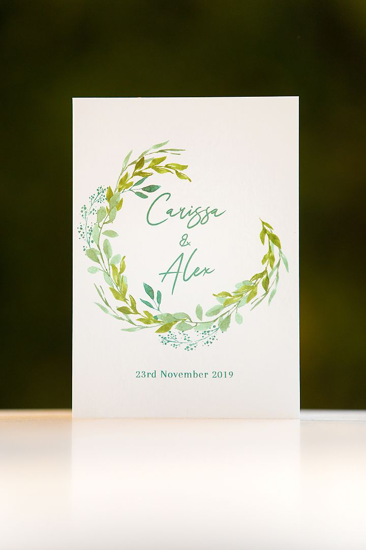 Wedding invitation stationary in Canberra