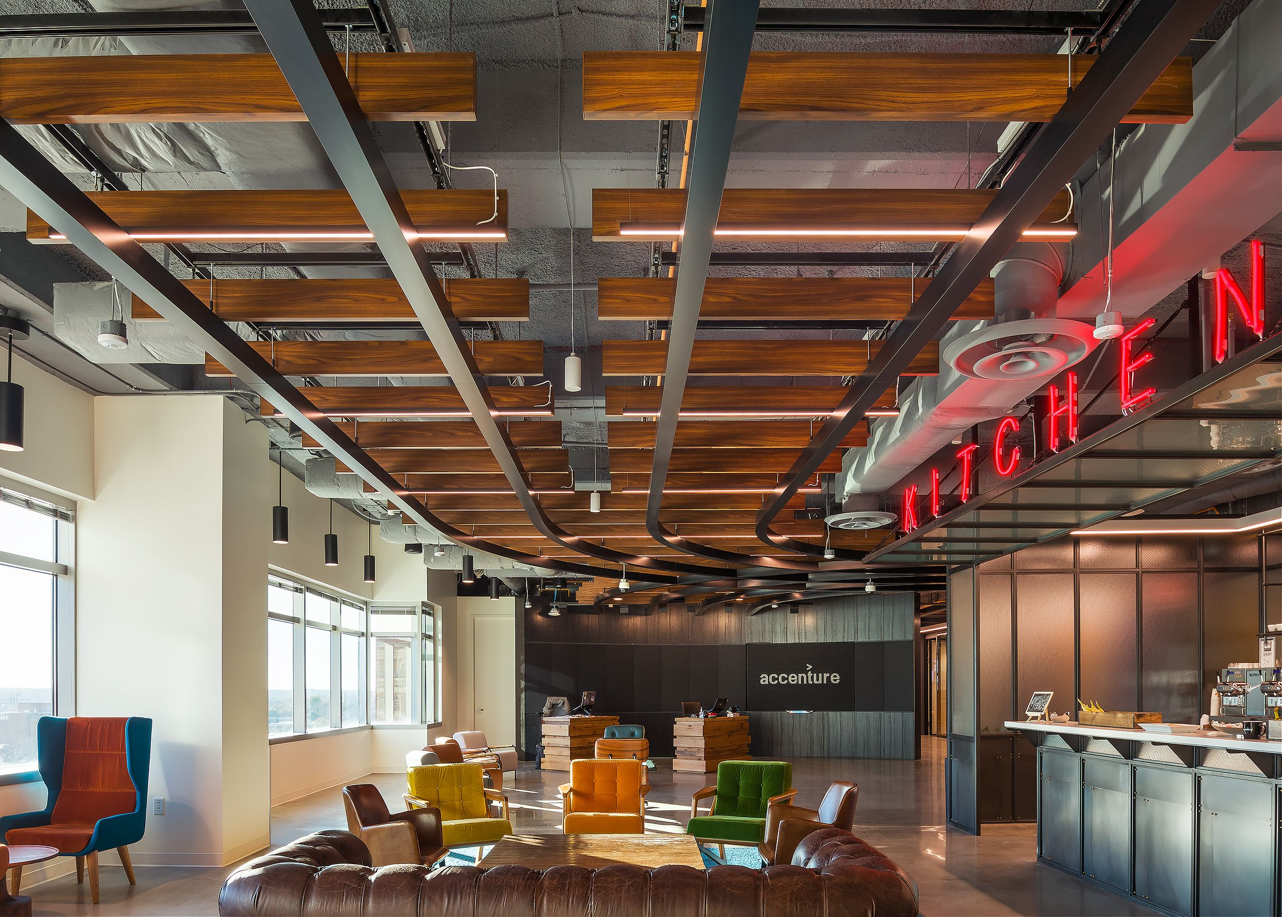 Architectural photographer Accenture Innovation Hub HQ