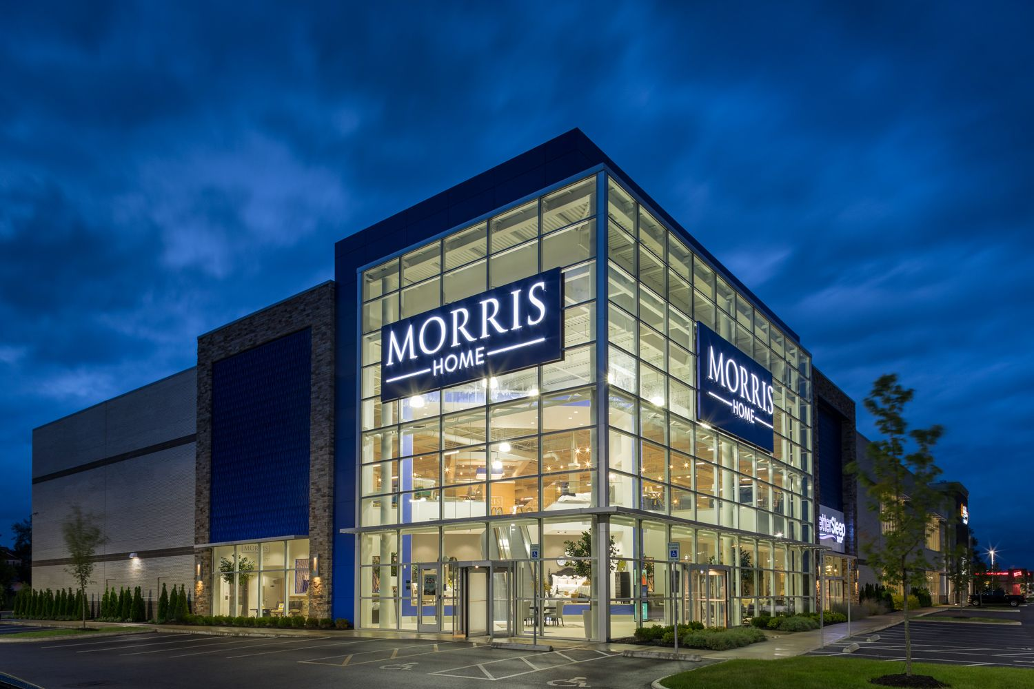 Architectural photographer Morris Home Furnishings Columbus Ohio