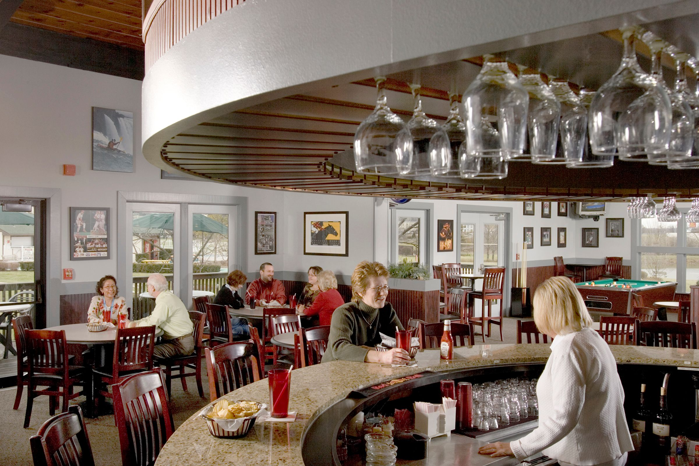 Architectural photographer Kings Island Resort bar