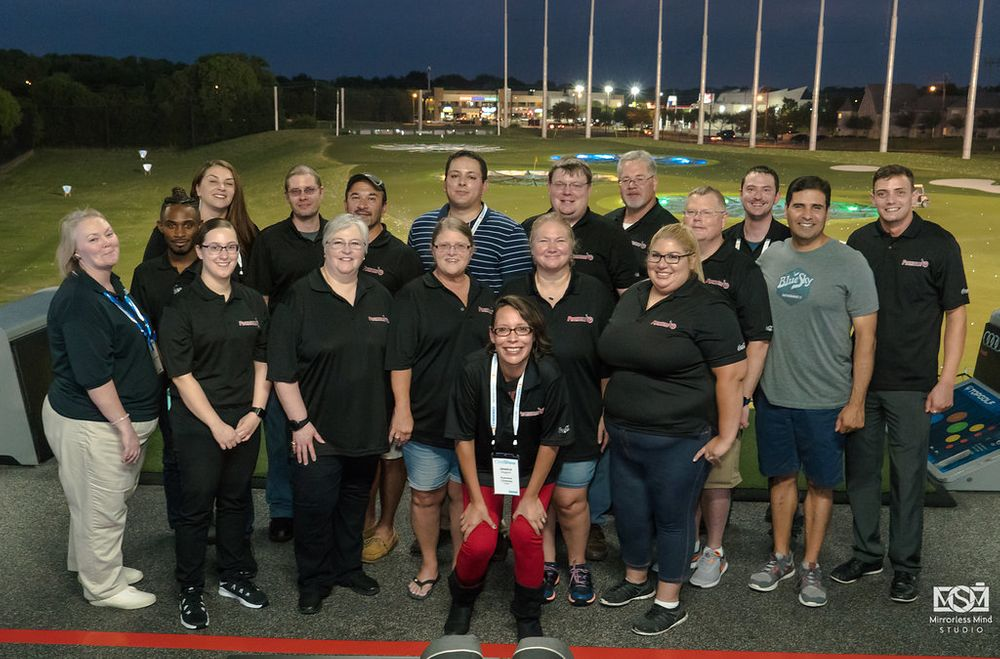 top golf corporate photography