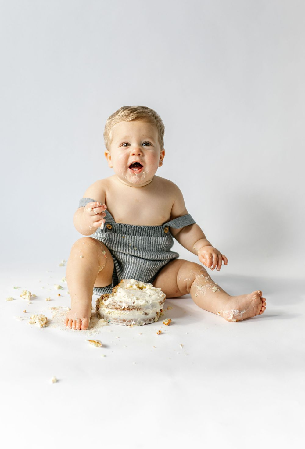 Baby Cake Smash Photographer Milwaukee, Wisconsin