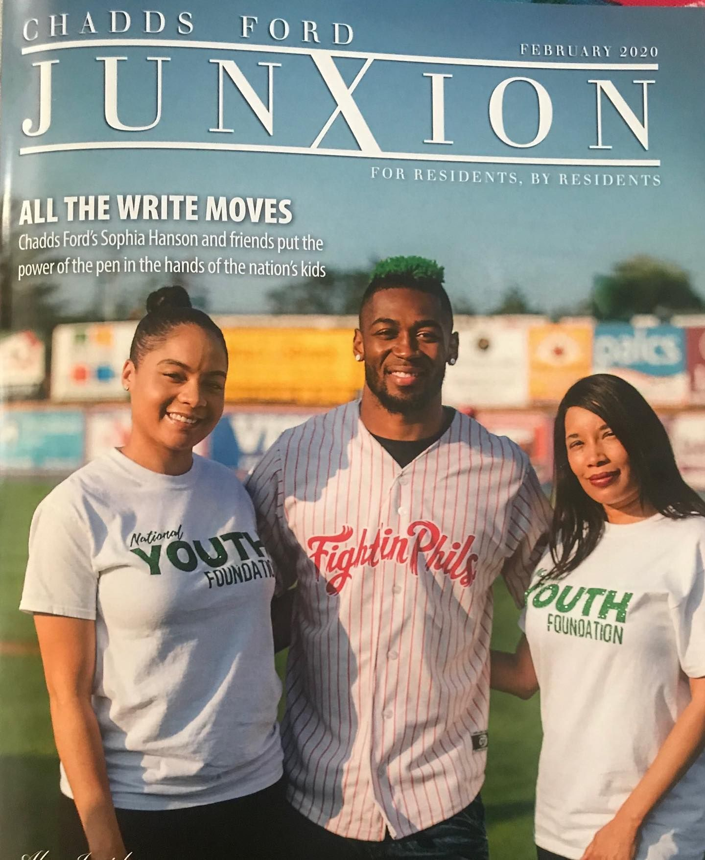 Local Chadds Ford Magazine cover Jalen Mills and NYF