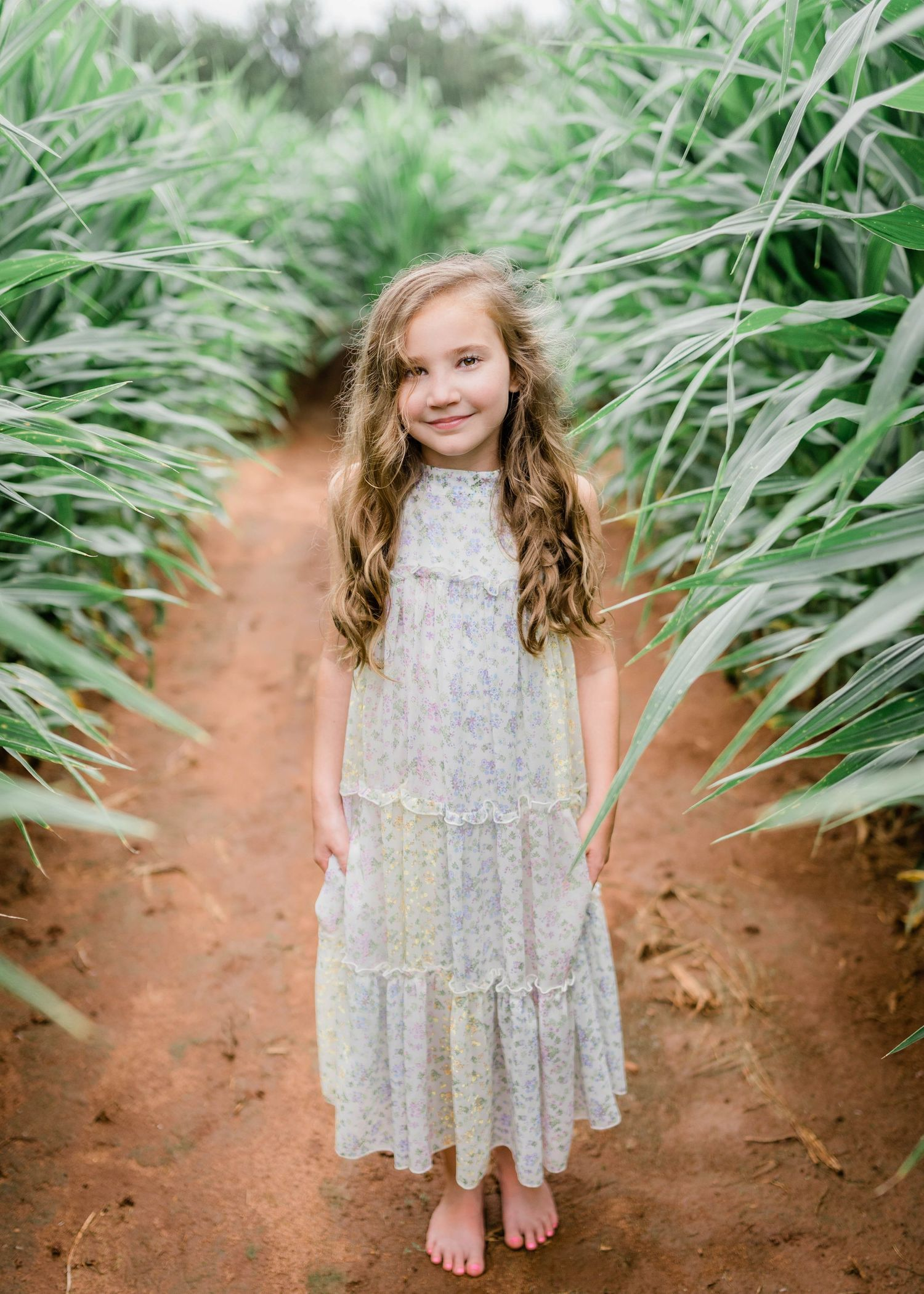 Cornfield County Farms Pumpkin Patch Photoshoot | Wetumpka, Alabama Portrait Photographer