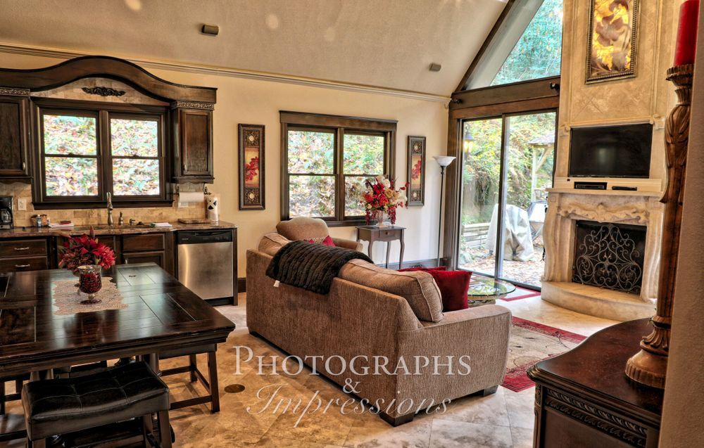 real estate photograph of interior and exterior by Photographs and Impressions and Nunweiler Photography