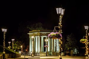 plymouth rock at night by heidi harting photography