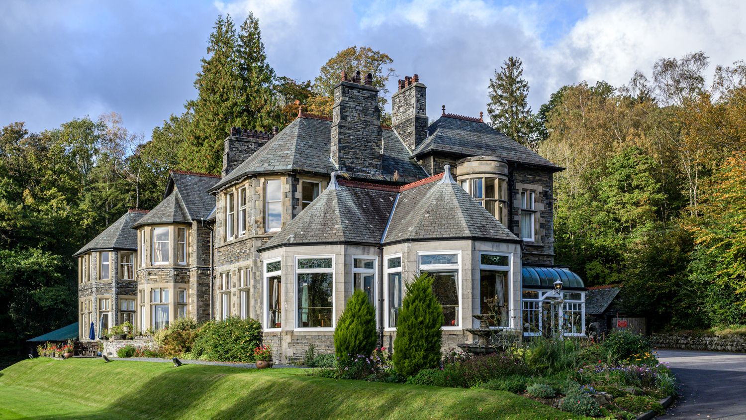 Merewood Country House Hotel overlooking Windermere in the Lake District