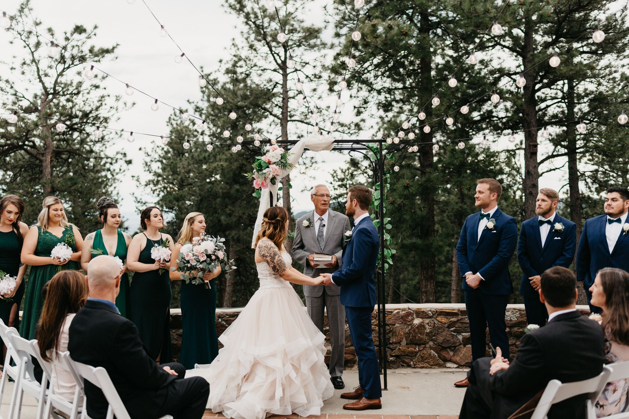 colorado, mountain, wedding, golden, best colorado wedding, tattooed bridge, tattoos, alternative, mansion, beautiful