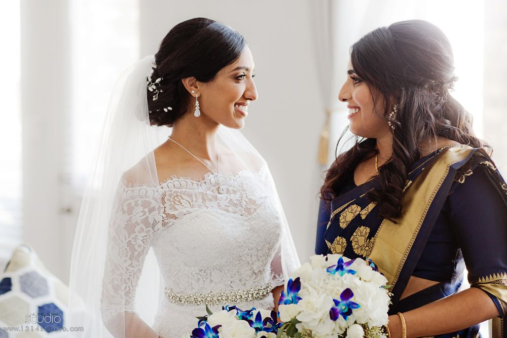bride and her sister in law in houston