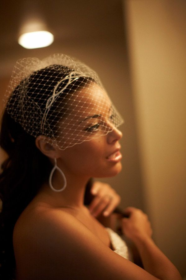 Bride getting ready on her wedding day in Massachusetts