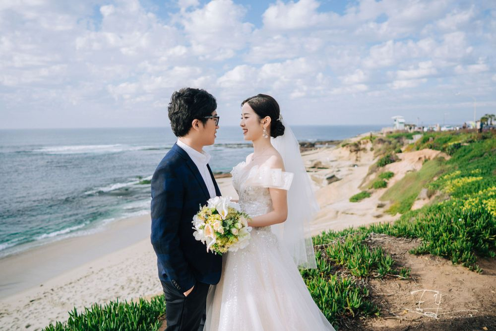 elvis yu photography engagement pre wedding photoshoot san diego california la jolla balboa park