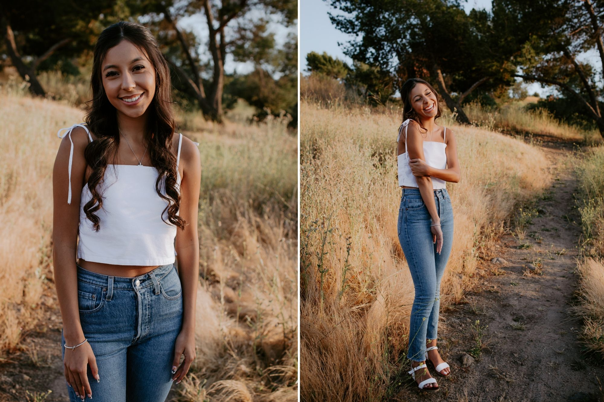 Bonelli Park Senior Photos San Dimas