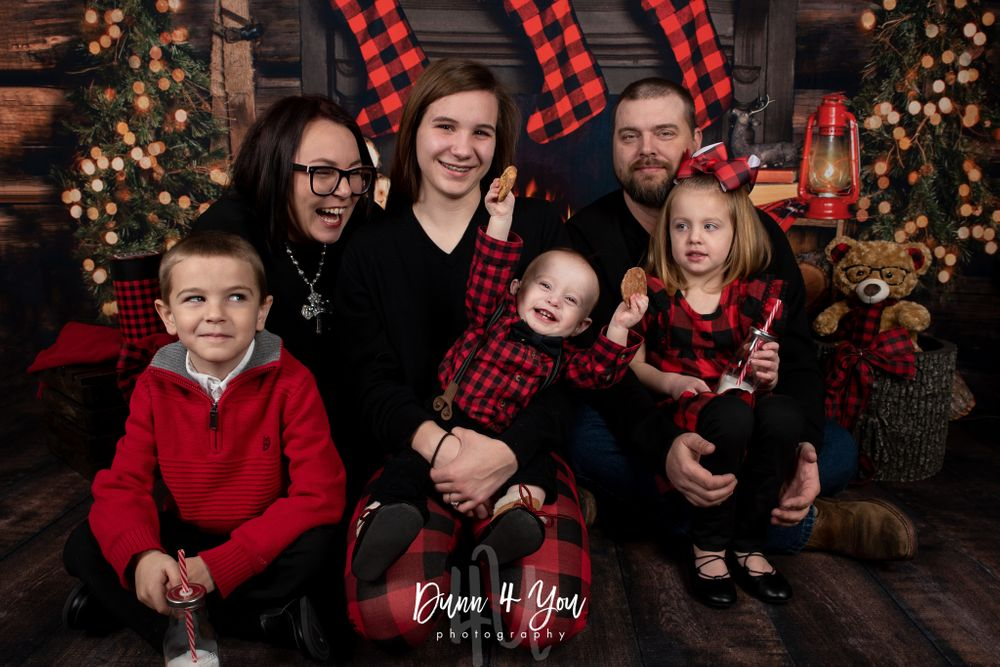 Colorado Springs Family Photographer Christmas Photo Session