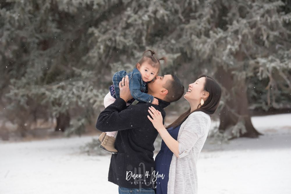 Colorado Springs Winter Family Photo Session
