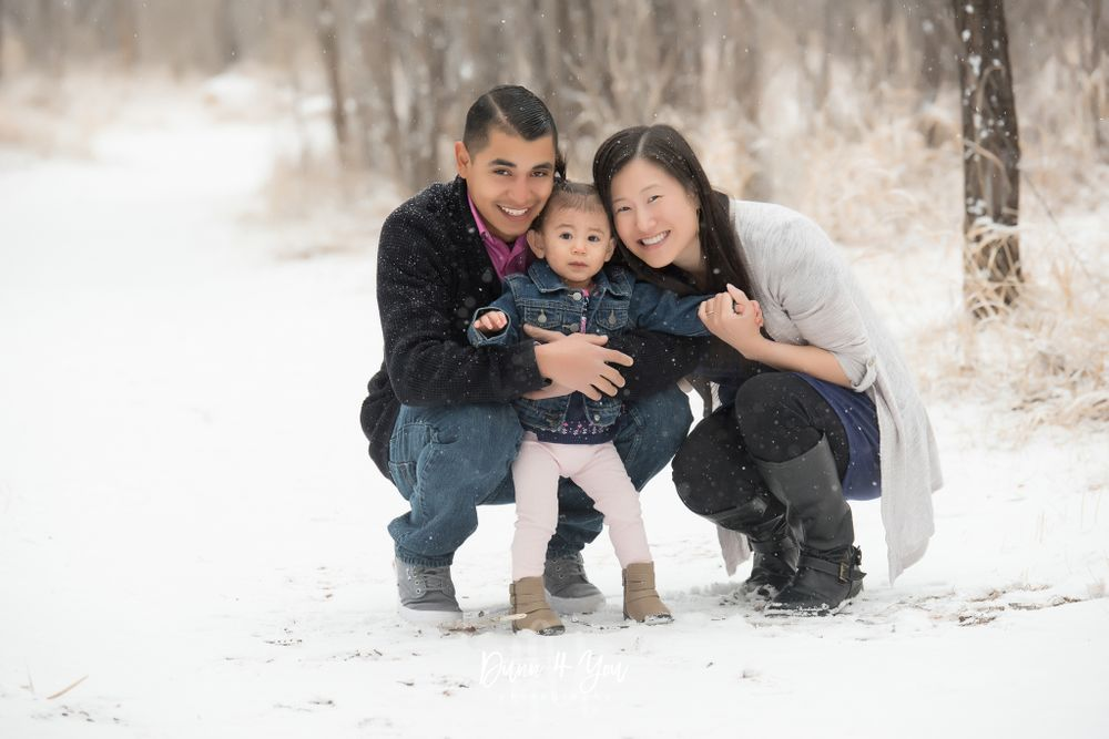Colorado Springs Family Photographer Snowy Photo Shoot