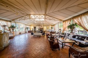 L'Andana Resort in Tuscany lobby view. Hotel Interior Photography Gianni Buonsante
