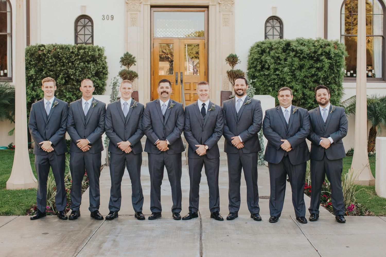 Groomsmen | Redondo Beach Historic Library