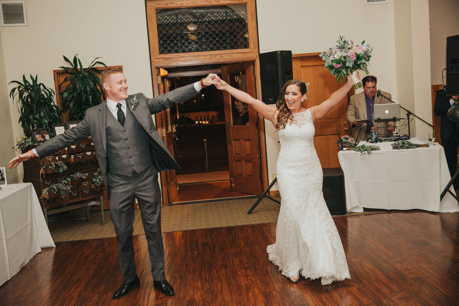 Bride & Groom Entrance | Redondo Beach Historic Library
