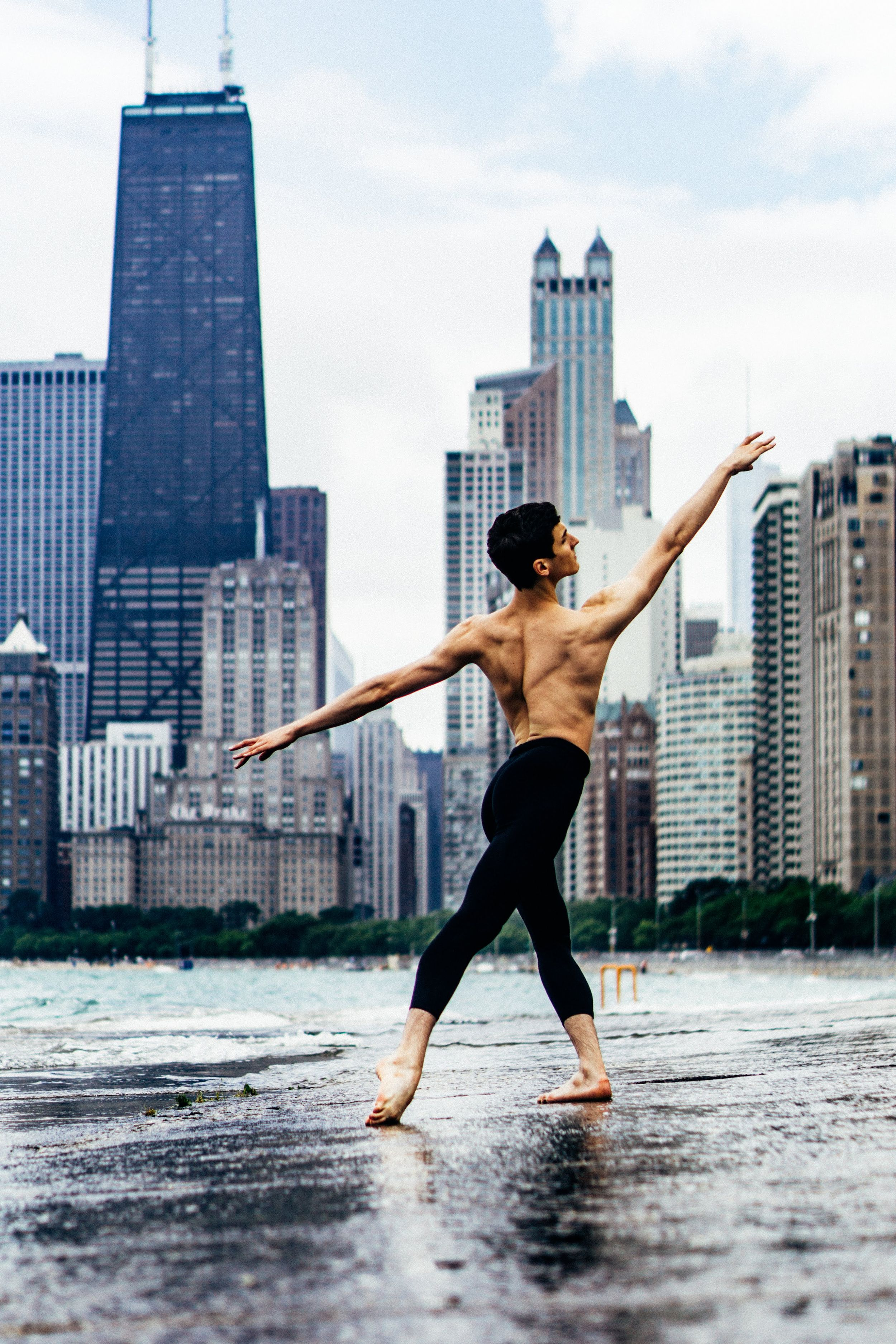 chicago ballet dance photography male