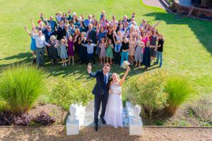wedding family group photo, Robert Nelson Wedding Photography