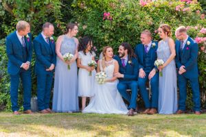 the bridal party, Robert Nelson Wedding Photography