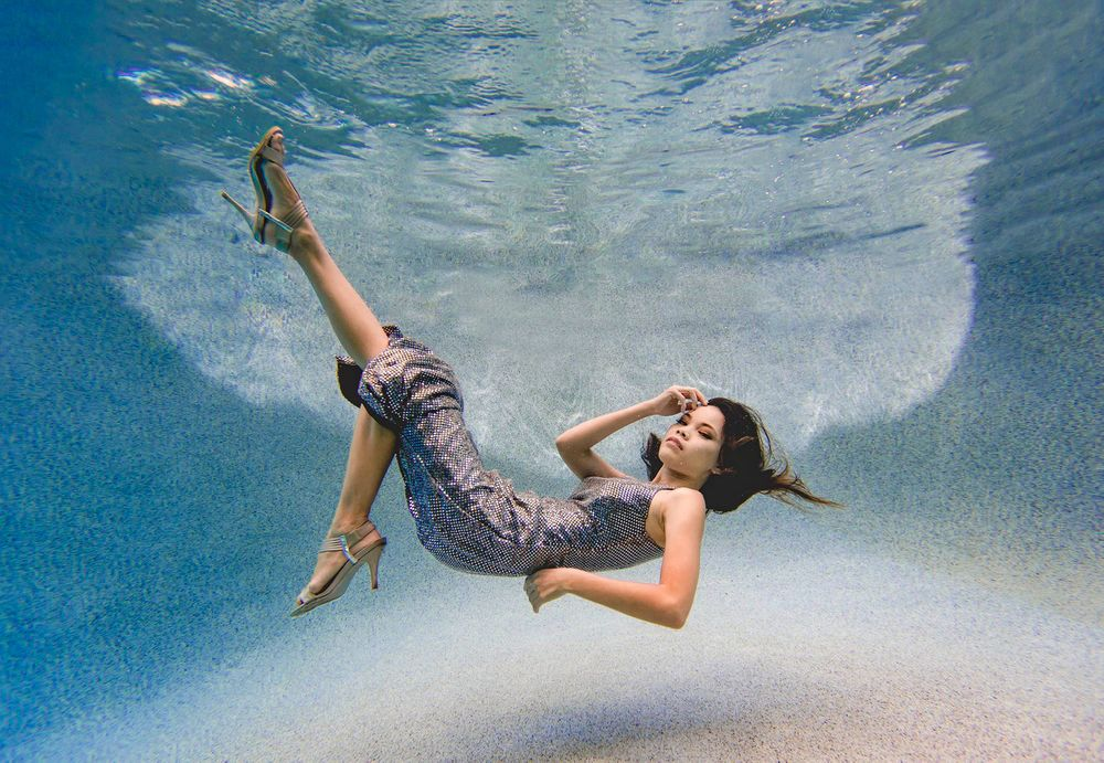 underwater fashion photography phoenix arizona