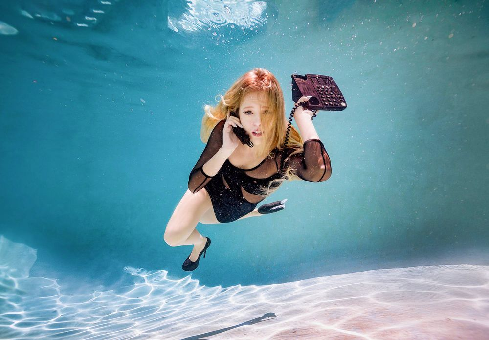 underwater portraits phoenix arizona
