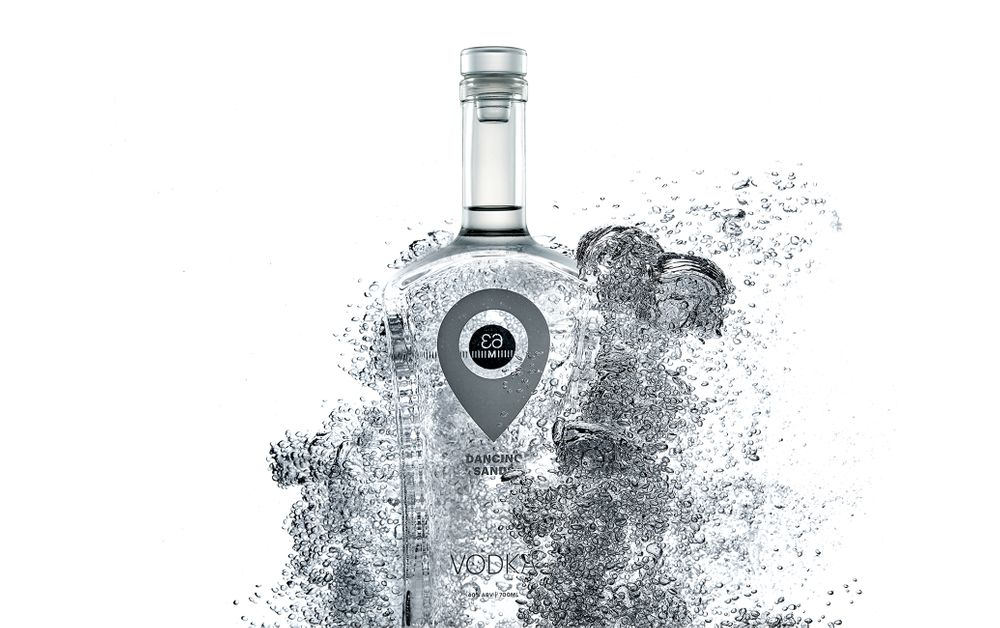Bubbles vodka