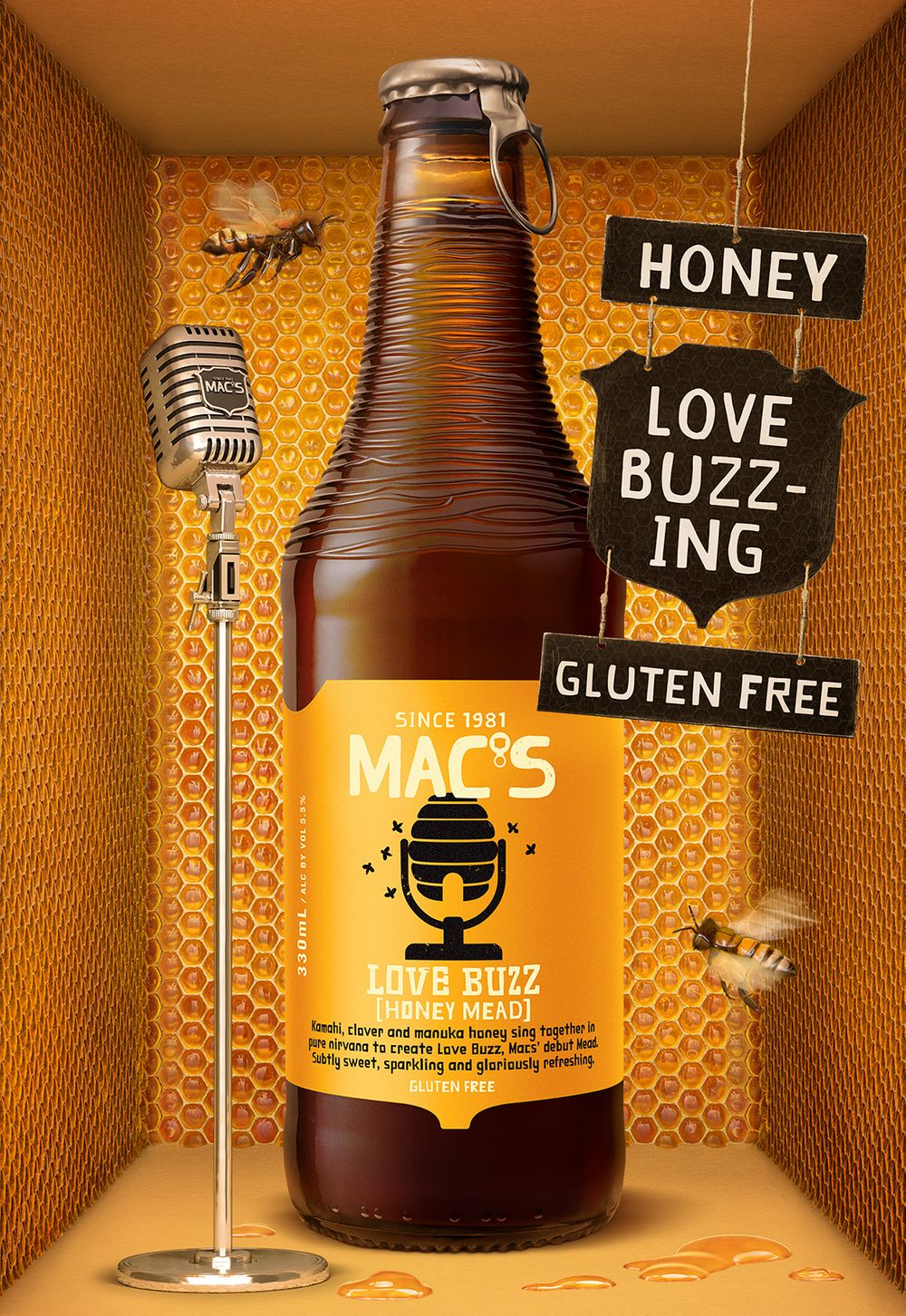 Macs Mac's Love Buzz Honey Mead