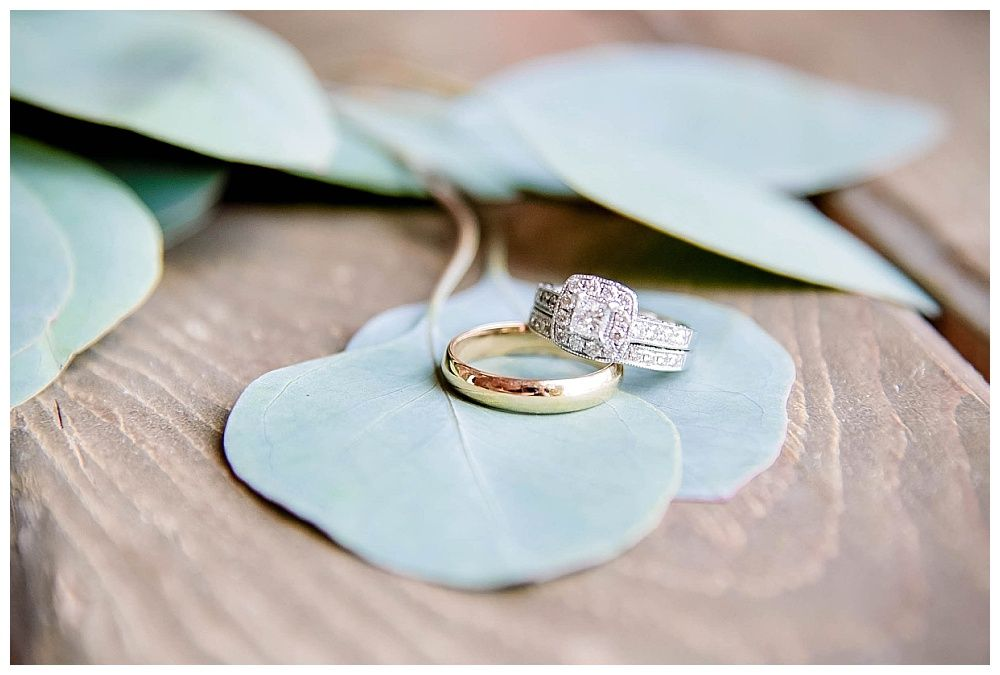 Visalia Central Valley California Koetsier ranch wedding rings
