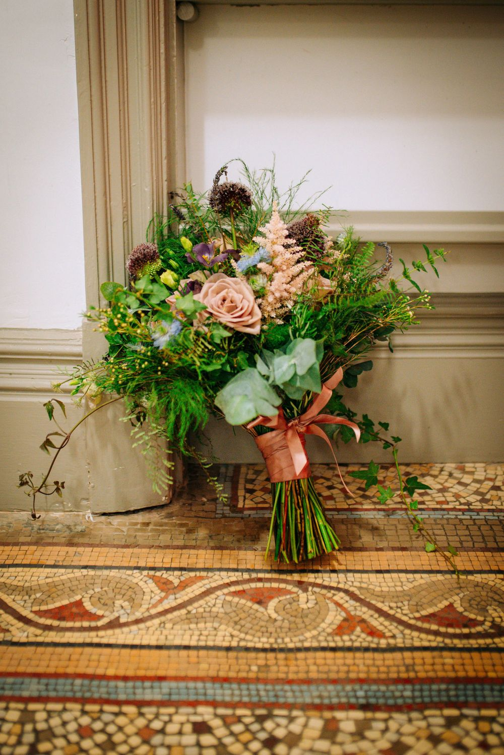 Frome Town Hall wedding by Zara Davis Photography, Gloucestershire Lynne Jessett Floristry