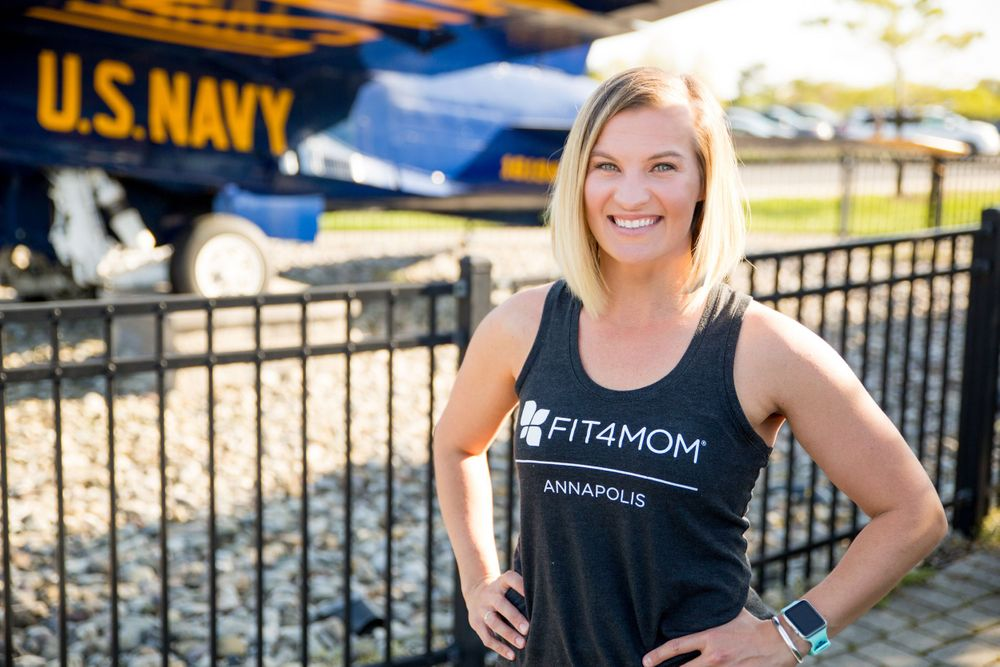 FIT4MOM Annapolis | Navy Stadium | USNA | Maryland  | DANIE Photographer