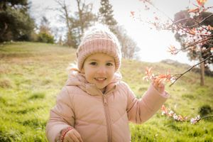 children's outdoor portrait