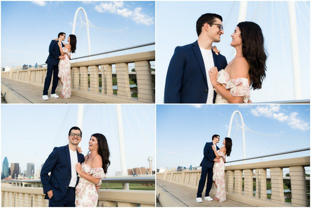 engagement photos in dallas texas by dallas wedding photographer monica salazar photography