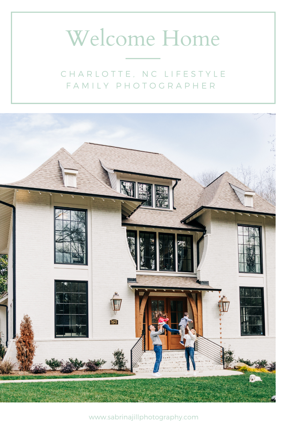 Charlotte, NC Lifestyle family photographer pinterest pin photo