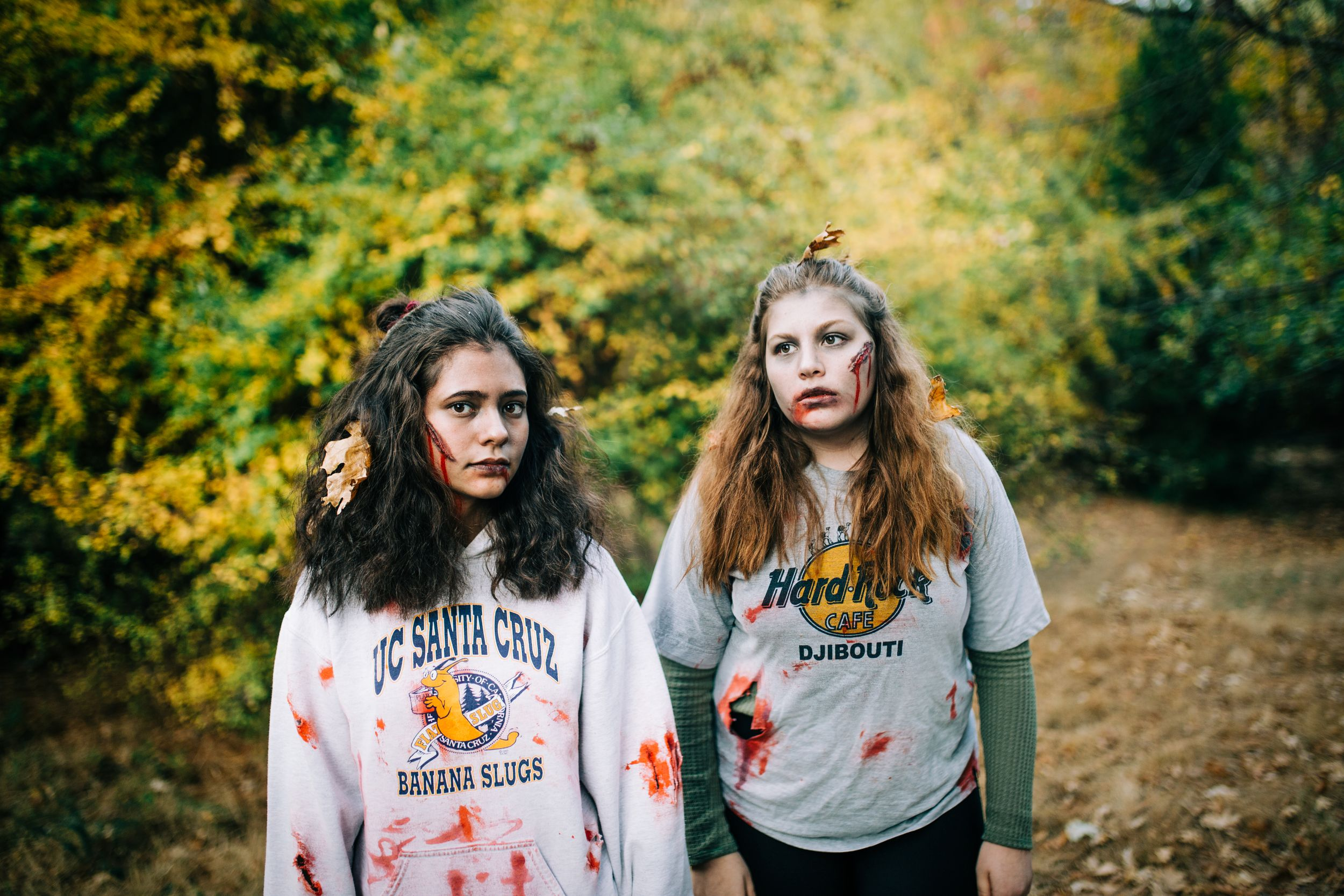 Two Zombies | Lenkaland Photography with Anika Vodicka and Jessica