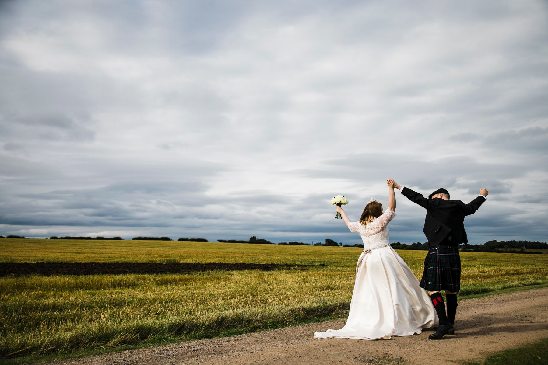 The Cow Shed Crail wedding photographer fife scotland barn venue