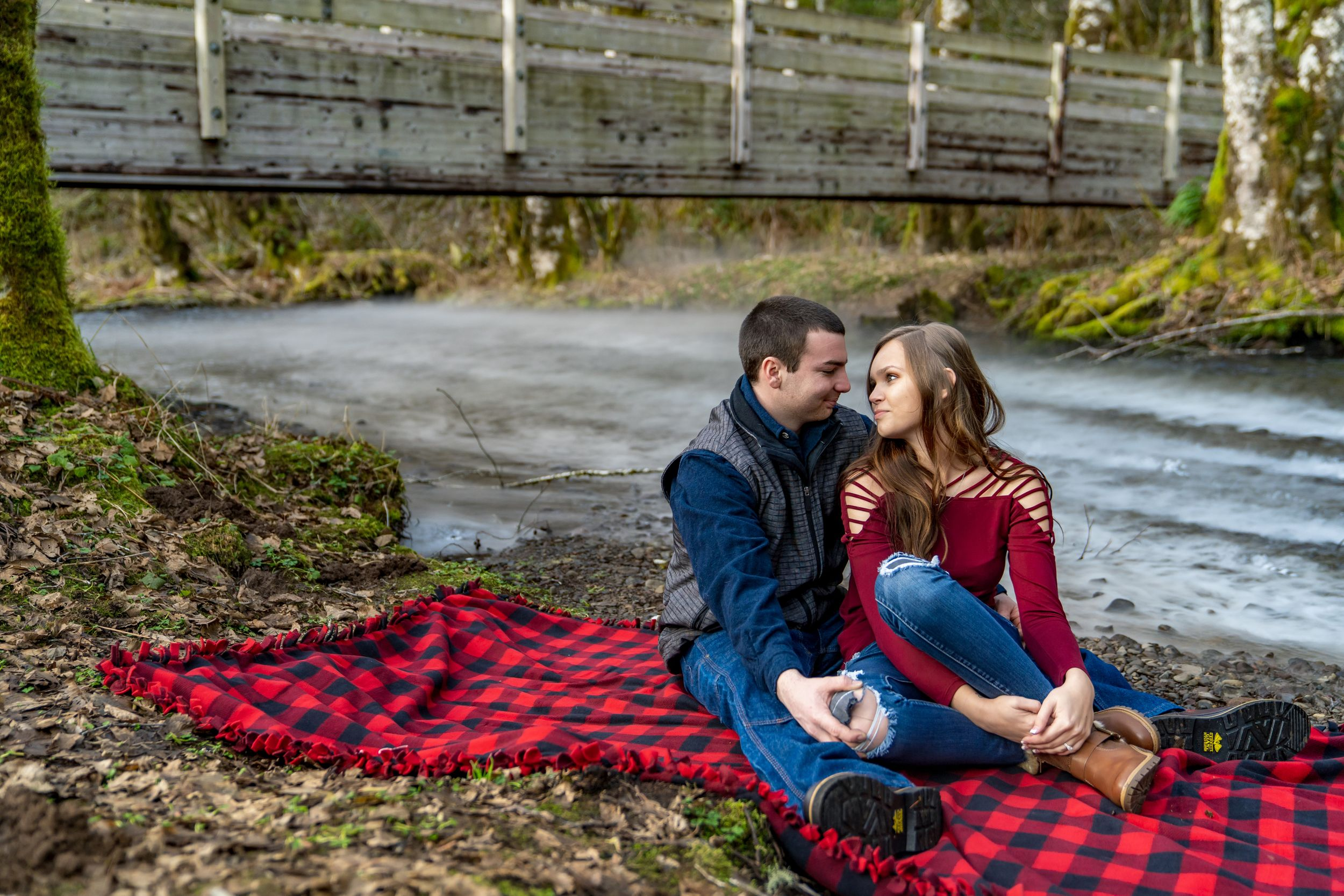 Young couple in love - Engagement photography