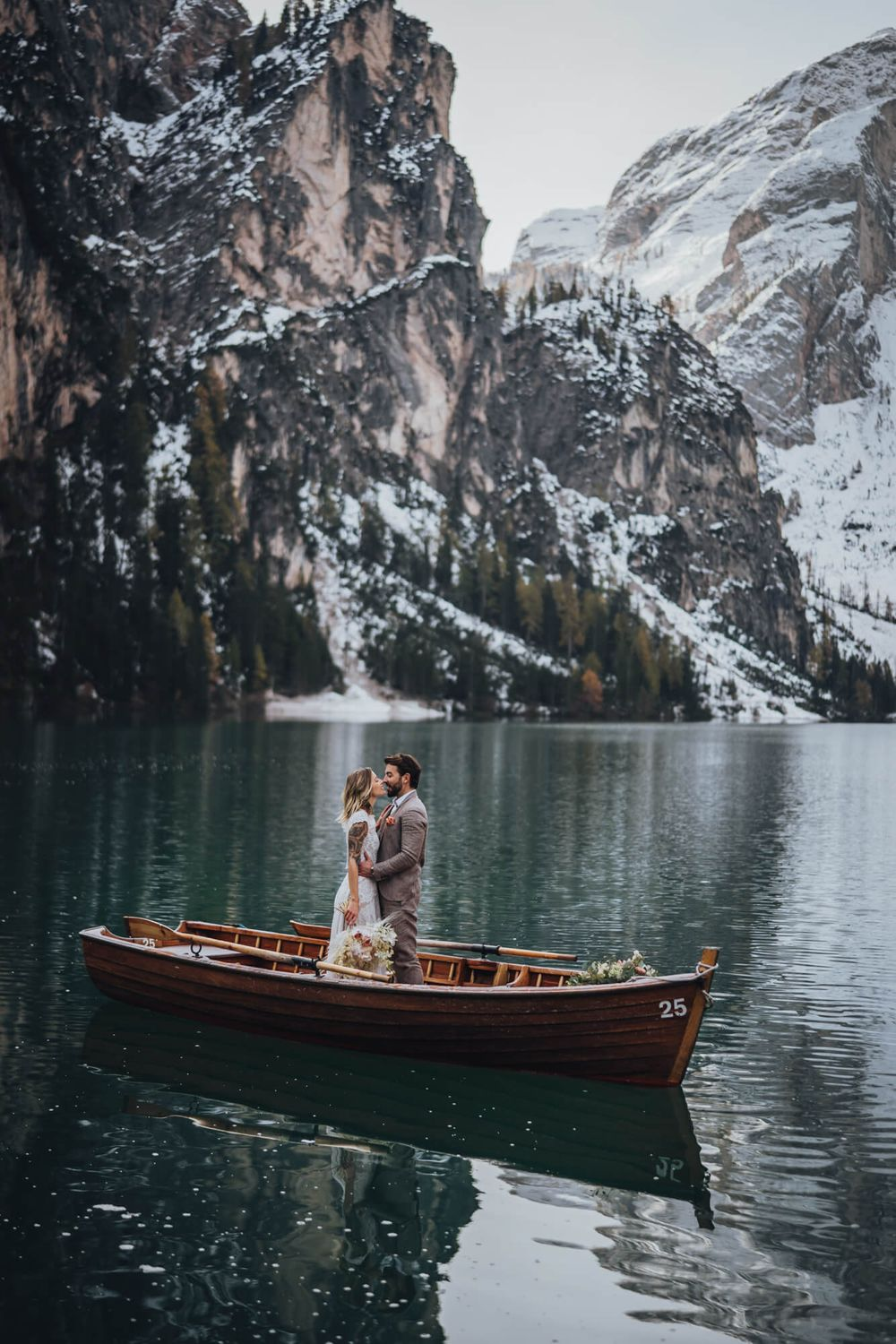 Elopement am Pragser Wildsee